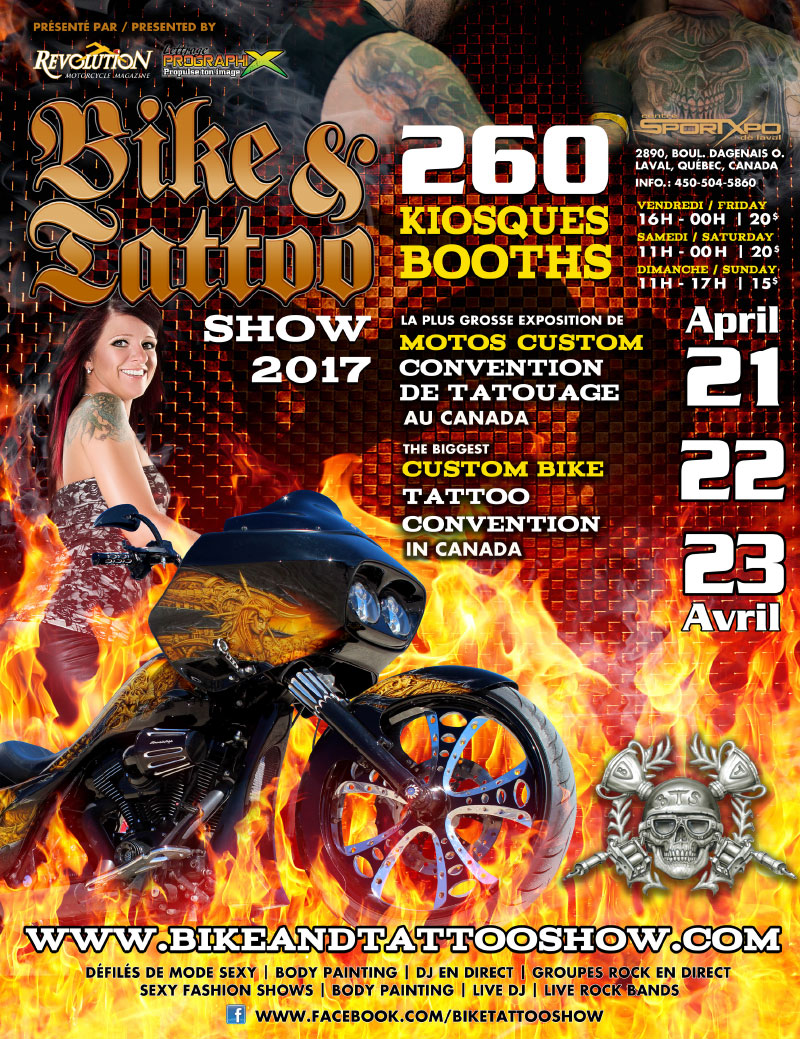 Bike and tattoo Show 2017